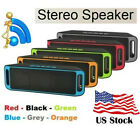 Rechargeable Bluetooth Stereo Bass Speaker Wireless FM/TF/USB/AUX Mini Subwoofer