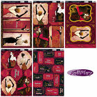 Kanban kit - stylish glamorous ladies, foiled & die cut paper card craft toppers