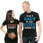 Pregnancy Couple Shirts Easter Maternity Shirts Easter Pregnancy Reveal