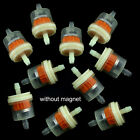 "10pcs 1/4"" 6-7mm Motorcycle Scooter Hose Inline Gas Fuel Gasoline Filter $3.99 USD on eBay"