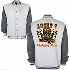 Childrens Kid Hotrod 58 Lucky 7 American Varsity Rockabilly Retro Car Jacket 135