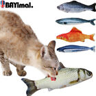 Cat Toys Catnip Chew Toy Artificial Fish Mint Stick Gadget Pet Sleeping Cushion