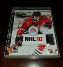 NHL 10 PlayStation 3 PS3 Mint **Inv01516**
