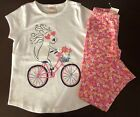 NWT Gymboree Outlet Girl Mix'n'Match Bicycle Dog  Leggings Outfit 5 6 7 8
