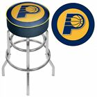 "Indiana Pacers Swivel Bar Stool 31"" NBA Officially Licensed Backless and Padded on eBay"