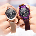 Fashion Luxury Convex Glass Quartz Mesh Belt With Magnetic Buckle Women Watch image