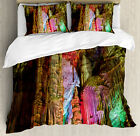 Colorful Vibes Duvet Cover Set Twin Queen King Sizes with Pillow Shams