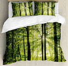 Nature Pattern Duvet Cover Set Twin Queen King Sizes with Pillow Shams