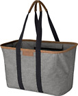 CleverMade 30L SnapBasket LUXE - Reusable Collapsible Durable Grocery Shopping -