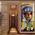 3Pcs Indian Woman Art Oil Painting Canvas Print Wall Picture Home Decor