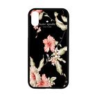 New!!Kate Spade.76 New-York Pink Rose Hard Case For iPhone XS MAX XR X 7/8 Cover