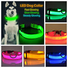 Kyпить LED Light up Dog Collar Pet Night Safety Bright Flashing Adjustable Nylon Leash на еВаy.соm