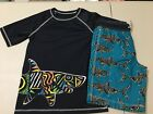 NWT Gymboree boy rash guard Shark Trunk shorts set 2 pc UPF 50+ many sizes