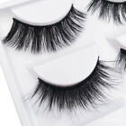 5 Pairs Different 3DEyelashes 100% Mink Eyelashes Handmade Eye Lashes Long