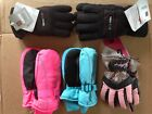 Kids ICE CAPS/Swiss Tech, Thinsulate Winter Gloves or Mitten, multi Size/Color