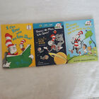 Lot of 3 Cat In The Hat Books Including I Can Read With My Eyes Shut! By Dr Seus