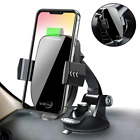 Qi Wireless Car Charger Mount,Automatic Sensor Fast Charging Air Vent Phone Xs