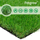 35MM Realistic Synthetic Artificial Grass Turf,  Fake Faux Lawn Grass Pet Rug