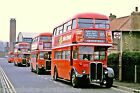London Transport RT line up Greenford 6x4 Bus Photo Ref L71
