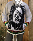 BOB MARLEY Vintage Wool Jacket Coat Men Women