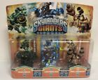 Skylanders Giants Series 2 Prism Break Lightning Rod Drill Sergeant Lot of 3 NIP