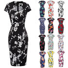 Womens Dress Retro Bodycon Pencil Slim Fit 1950s Vintage Cocktail for Junior