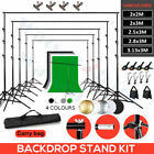 10Ft Adjustable Photography Background Support Stand Kit Multiple Choice For Pro