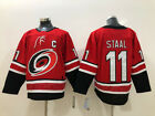 NWT Carolina Hurricanes 11 Jordan Staal NHL Jersey Red White Stitched Size S 3XL