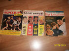 3 Magazines Sports Annual 1963 Mickey Mantel-Dell Sports Big League-Great Moment