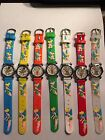 CHILDREN CHARACTER WATCHES-- 1 PC-- TINKERBELL --YOU CHOOSE BAND COLOR BELOW
