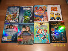 9 DVD&1 Blue Ray Dolphin Tale-Monster Inc-Bridge Terabithia-Despicable 2-Babies