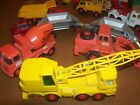 5 Matcbox trucks King Size Made in England