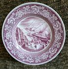 Wedgwood Old NY South Street Waterfront 1835 commemorative collectors plate