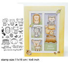 Bunny Mixed Print Transparent Clear Silicone Stamp/Seal scrapbooking/photo album