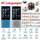 Portable AI Smart 45 Languages Translator Touch Screen Real Time Business Travel