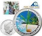 """5$ Cook Islands 2012 """"The Pacific Challenge""""- Coconut Silver Proof  rar 750 pcs."""