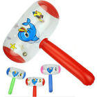 Cartoon Inflatable Hammer Air Hammer With Bell Kids Children Blow Up Toys  HV