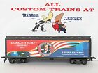 HO CUSTOM LETTERED TRUMP FOR PRESIDENT IT'S YUGE.COLLECTIBLE REEFER. LOT B