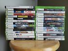 XBOX 360 Games Bundle - AS IS game collection