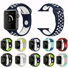 Sport Silicone Wrist iWatch Strap Band For Apple Watch SERIES 1 2 3 4 5 42/44MM image