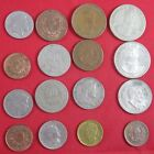 16 vintage Colombia coins