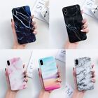 Marble Case Shockproof Soft TPU Bling Protective Thin Cover For Apple iPhone