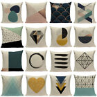 Vintage Creative Linen Cotton Waist Throw Pillow Case Cushion Cover Home Decor image