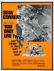 You Only Live Twice Movie Art Silk Poster 12x18 24x36 $5.76 CAD on eBay