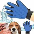 Pet Grooming Gloves Brush Fur Hair Removal Mitt Massage Deshedding for Dogs Cats