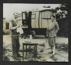 Press Photograph 1928 Noted Author Sinclair Lewis & Wife Dorothy Thompson *173