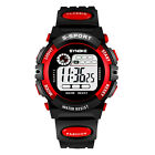 Waterproof Children Boys Digital LED Sports Watch Kids Alarm Date Watch StudentWristwatches - 31387