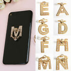 New 360° Rotate Metal  Letter Diamond Finger Ring Stand Holder for Cell Phone