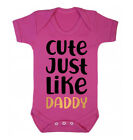 Cute Just Like Daddy Baby Vest - Father's Day Dad Daughter Present Funny Gift