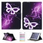 """Butterfly Pattern Stand Leather Cover Case For Samsung Lenovo LG  10"""" 10.1"""" Inch"""